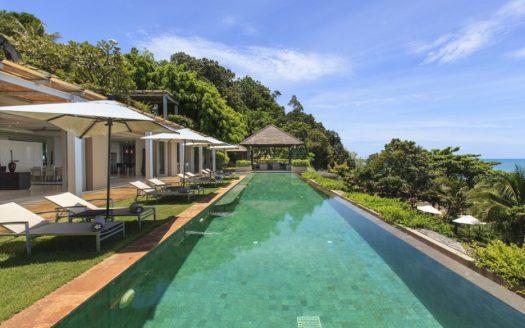 Villa 1 at Sangsuri private resort, North Chaweng, Koh Samui, Thailand